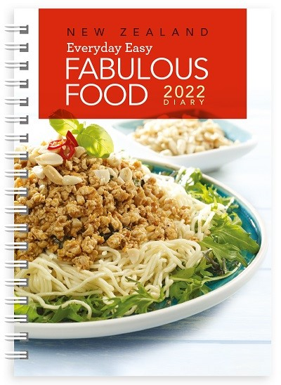 New Zealand Fabulous Food 2022 Diary -