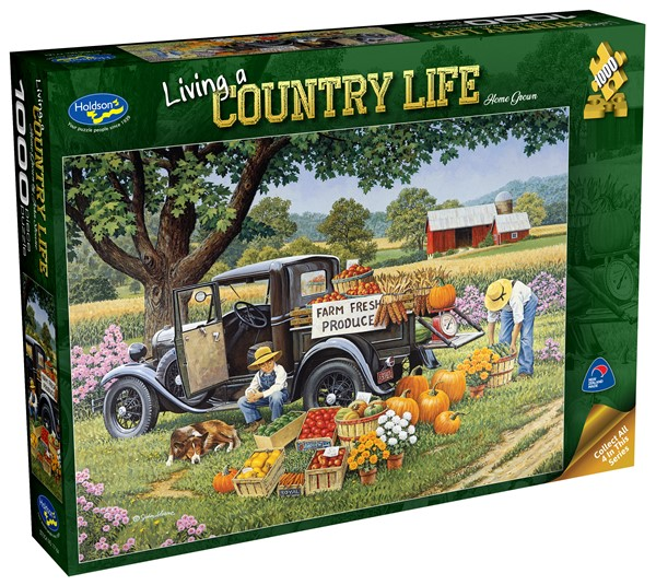 Living a Country Life 1000 Piece Jigsaw Puzzle Home Grown - pr_1747078