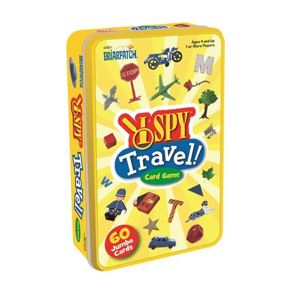UG Games - I Spy Travel Card Tin Game -