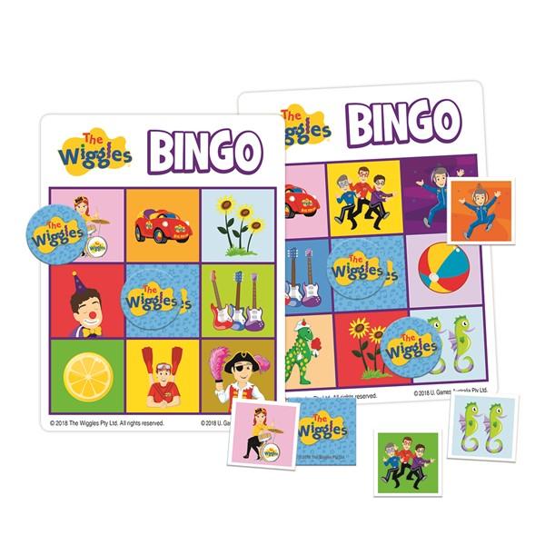 Wiggles Bingo & Matching Tin -