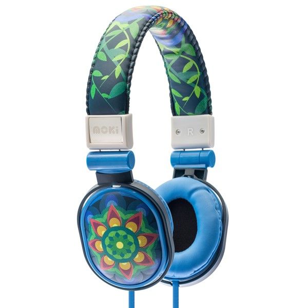 Moki Poppers Headphones Mandala -