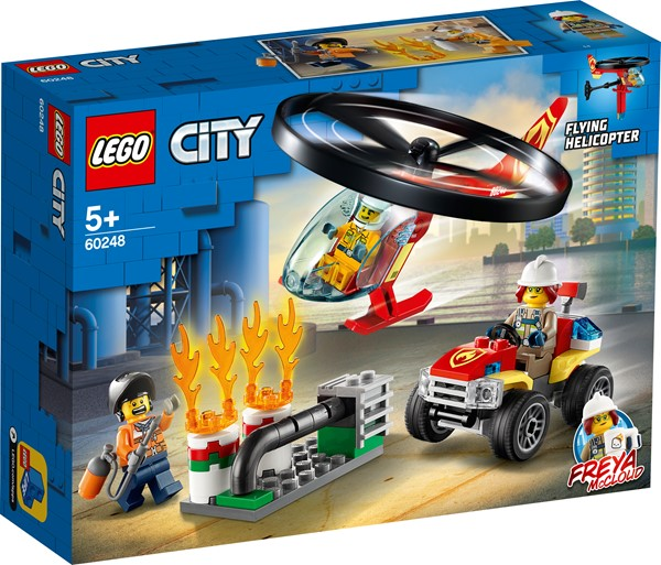LEGO City- Fire Helicopter Response - pr_1741338