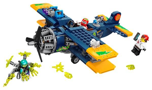 LEGO Hidden Side- El Fuego's Stunt Plane - pr_1741347