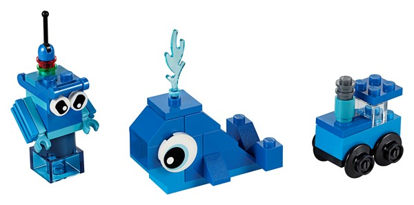 Lego Classic- Creative Blue Bricks - pr_1746786