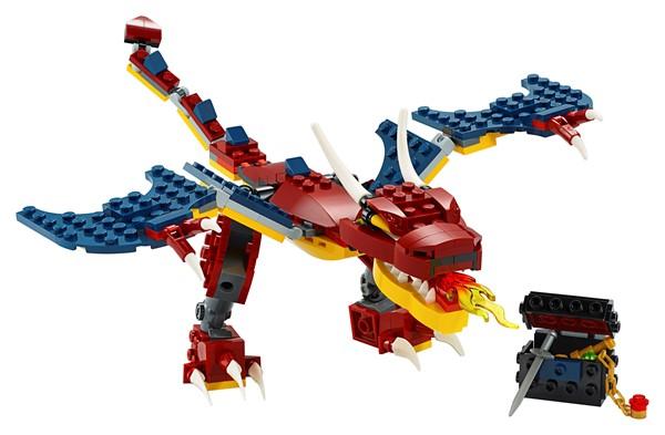 Lego Creator- Fire Dragon - pr_1746774