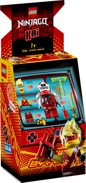 Lego Ninjago- Kai Avatar - Arcade Pod - pr_1746896