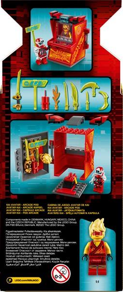 Lego Ninjago- Kai Avatar - Arcade Pod - pr_1746895