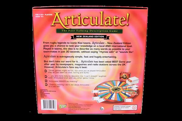 Articulate Game -