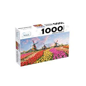 Jigsaw Puzzle 1000 Piece- Zaanse Schans Netherlands