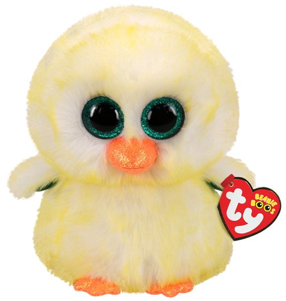 TY Beanie Boo Lemon Drop Chick- Regular - pr_1772971
