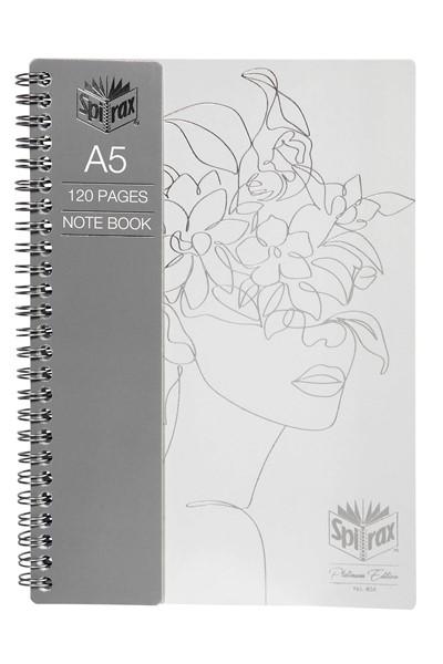 Spirax Platinum Notebook A5 120 Pages Assorted -
