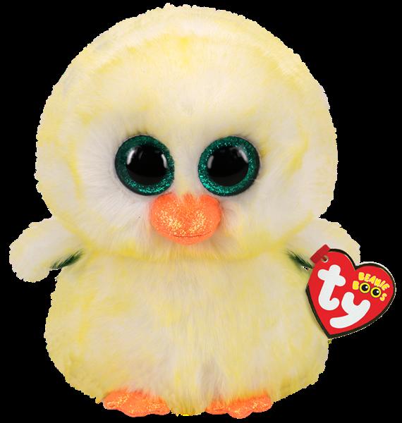 TY Beanie Boo Lemon Drop Chick- Medium - pr_1772984