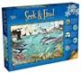Seek & Find 300 XL Piece Jigsaw Puzzle- The Ocean - pr_1772974