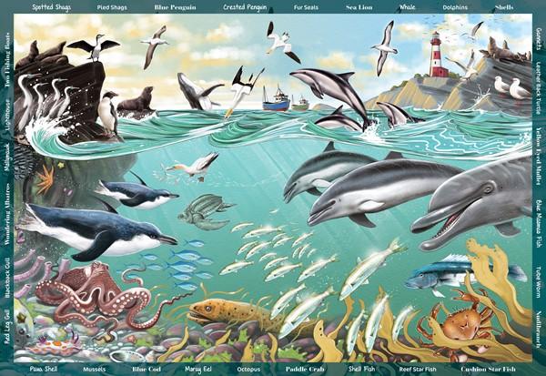 Seek & Find 300 XL Piece Jigsaw Puzzle- The Ocean - pr_1772994