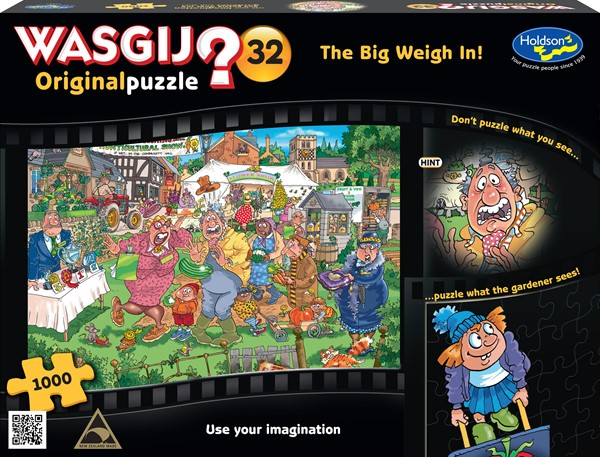 Wasgij Original #32 1000 Piece Jigsaw Puzzle The Big Weigh In - pr_1776884