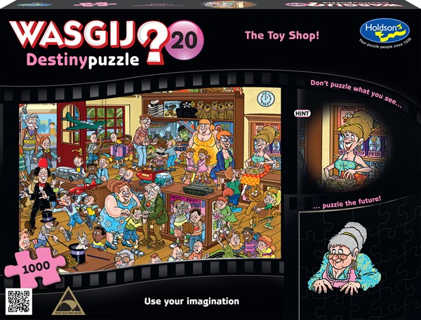 Wasgij Destiny #20 1000 Piece Jigsaw Puzzle The Toy Shop! - pr_1776885