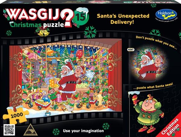 WASGIJ Xmas #15 1000 Piece Santa's Unexpected Delivery -