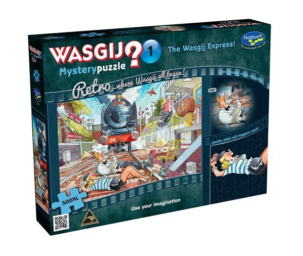 Retro Wasgij Mystery #1 500XL Piece The Wasgij Express! - pr_1838891