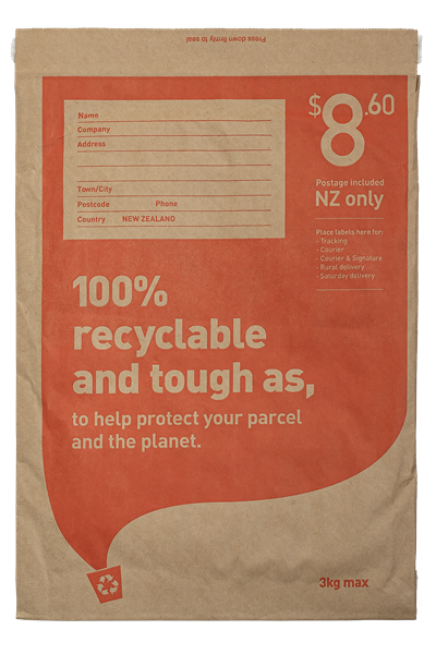 NZ Post - Size 4 Recycled Padded Postage Included Bag - pr_1854174