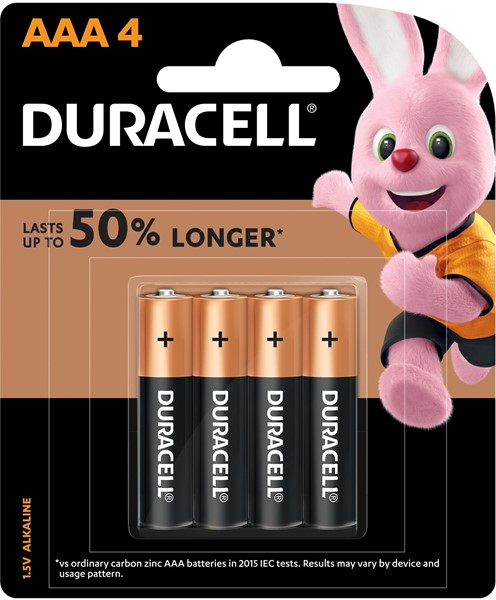 Duracell Coppertop AAA Battery Pack of 4 - pr_1776551