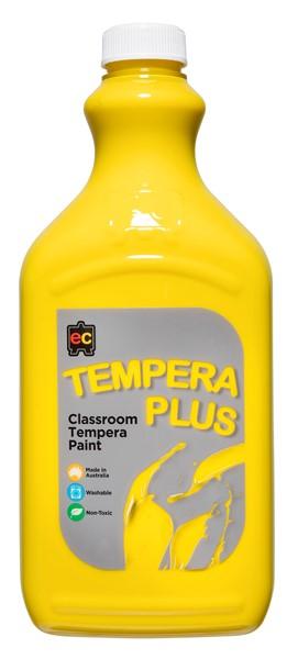 Tempera Plus Classroom Paint 2l Brilliant Yellow -