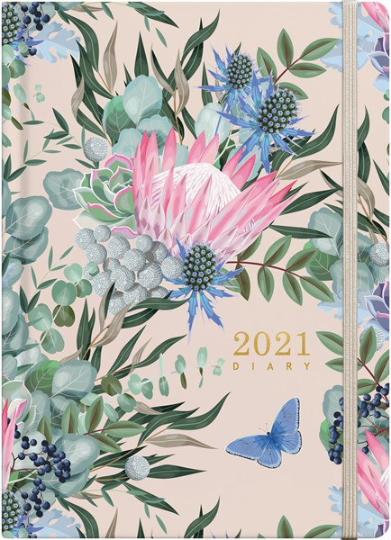 Floral Expressions A51 2021 Diary - pr_1776041