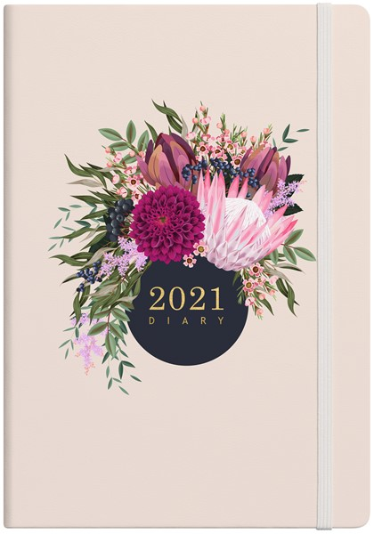 Vivid Floral A51 2021 Diary - pr_1776040