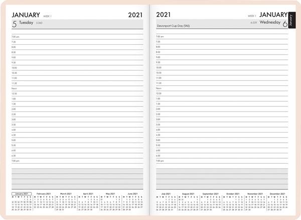 Vivid Floral A51 2021 Diary - pr_1776039