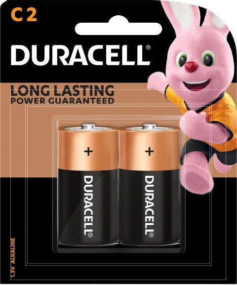 Duracell Coppertop C Battery Pack of 2 - pr_1850443