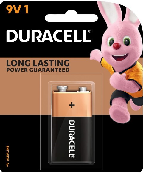 Duracell Coppertop 9V Battery -