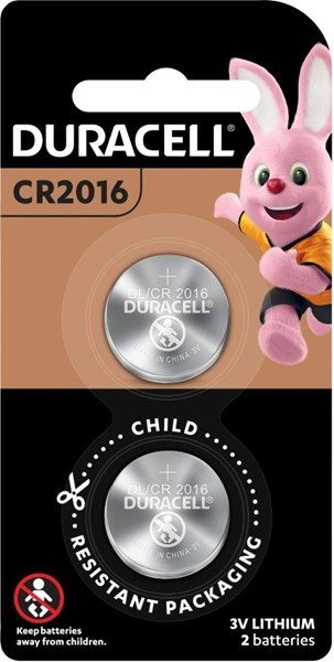 Duracell Lithium Coin 2016 Battery Pack of 2 - pr_1850447