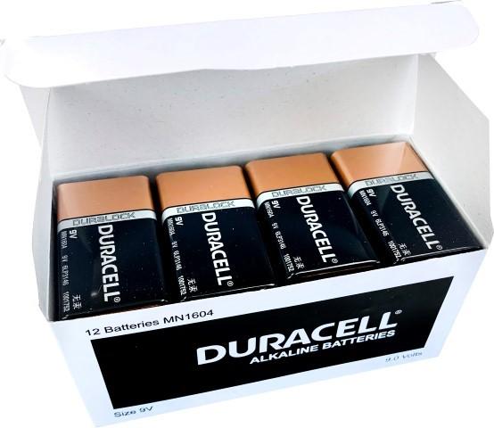 Duracell Coppertop 9V Battery Pack of 12 - pr_1850444