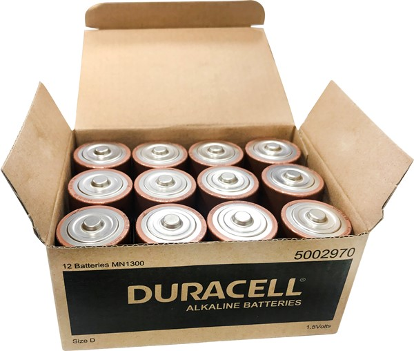 Duracell Coppertop D Battery Pack of 12 - pr_1830737