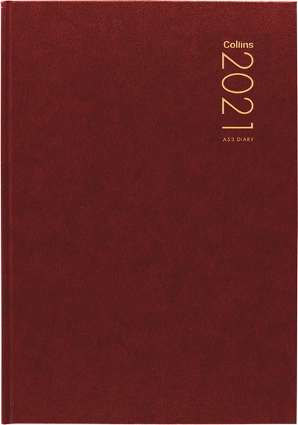 Collins A53 Red 2021 Diary - pr_1775931