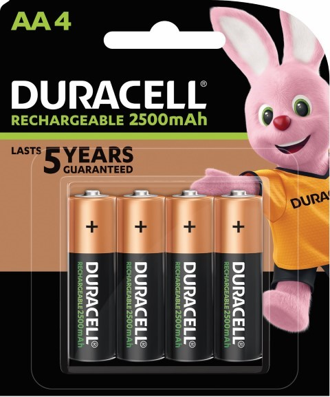 Duracell Rechargeable AA Battery Pack of 4 - pr_1850448