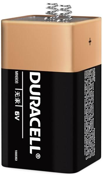 Duracell Coppertop Alkaline MN908 6V Battery - pr_1850461