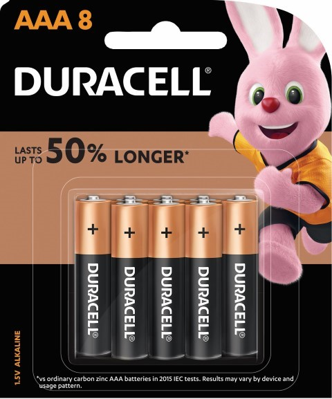 Duracell Coppertop Alkaline AAA Battery Pack of 8 - pr_1850467