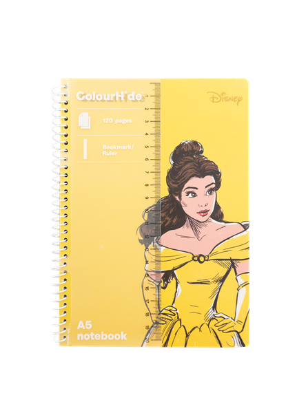 Disney Princess Colorhide A5 Notebook Assorted - pr_1776608