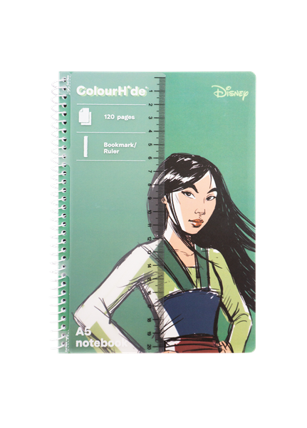 Disney Princess Colorhide A5 Notebook Assorted - pr_1776603