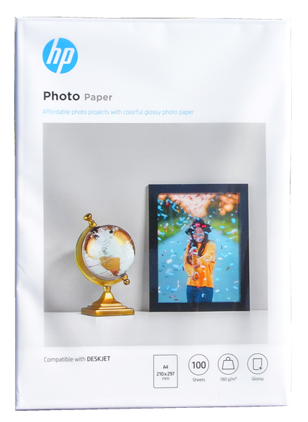 HP Photo Paper Everyday A4 Q2510A 180gsm Pack 100 -