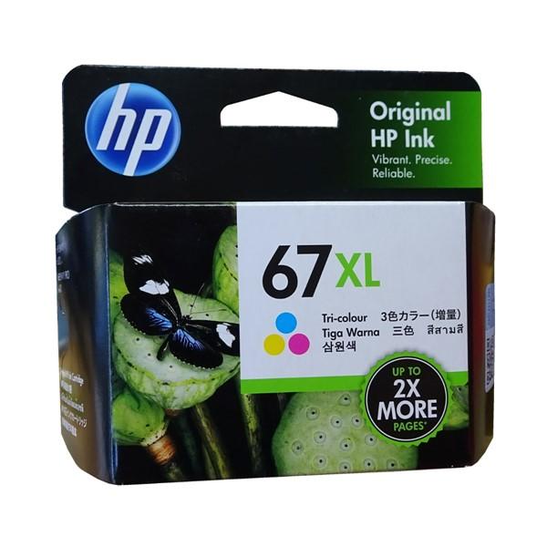 HP 67XL Tri-Colour Ink Cartridge - pr_1837942