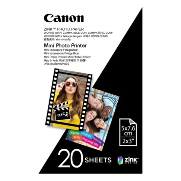 Canon Zink Photo Paper for Mini Photo Printer - 20 Sheets - pr_1777015