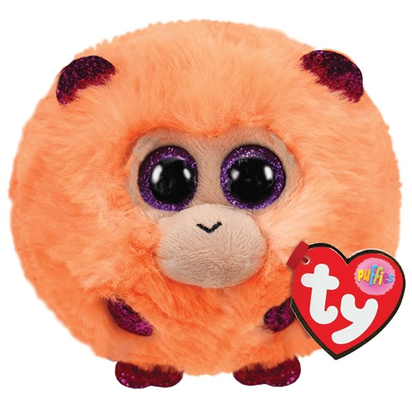 Ty Puffies Coconut Monkey -