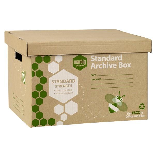 Marbig Enviro Kraft Archive Box -