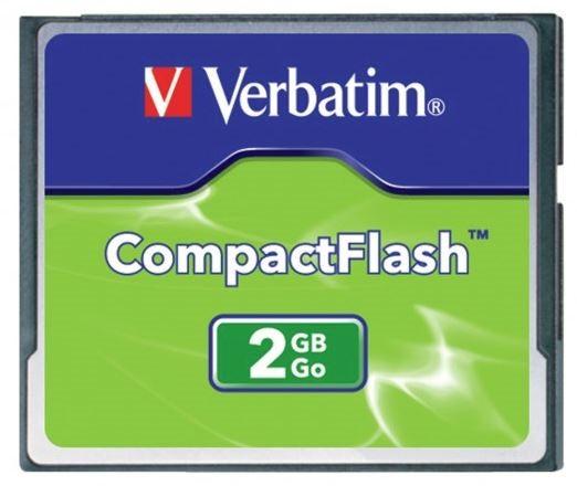 Verbatim Compact Flash Card 2GB -