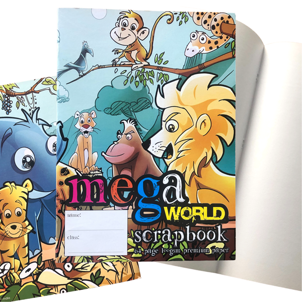 Megaworld Scrapbook 64 Pages 100gsm -