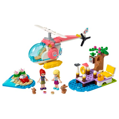 LEGO Friends - Vet Clinic Rescue Helicopter -