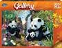 Gallery 300 XL Piece Jigsaw Puzzle Panda Valley -