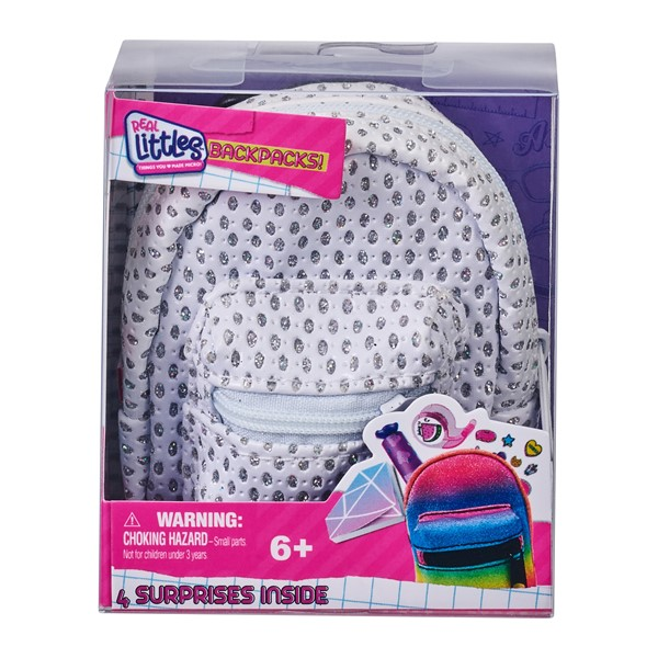 Real Littles Single Backpack: ASSORTED DESIGNS AVAILABLE -