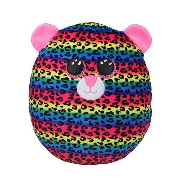 Ty Squish-A-Boo Dotty Multicolour Leopard - Medium -